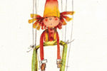 Florencia  Denis Illustration - florencia denis, flory denis, paint, painted, watercolour, traditional, picture book, picturebook, trade, puppets, people, children