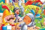 Helen Prole Illustration - helen prole, educational, commercial, digital, mass market, value, activity, colouring, people, medieval, castles, knights, dragons, monsters, creatures