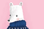 Jessica Rose Illustration - jessica, rose, jessica rose, illustrator, illustration, digital, photoshop, trade, picture book, polar bear, animal, cat, funny, quirky, pattern