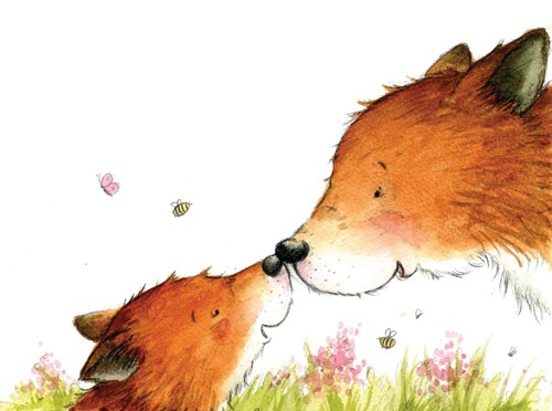 Hannah Whitty Illustration - hannah whitty, commercial, paint, painted, watercolour, picture book, picturebook, fiction, animals, foxes