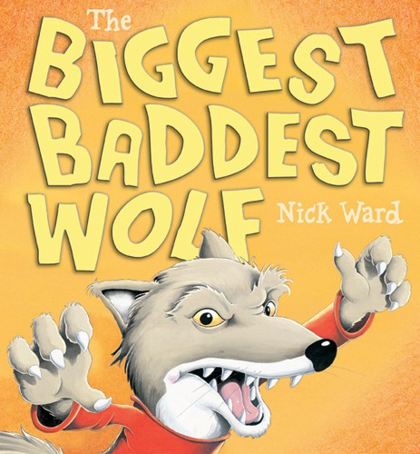 Nick Ward Illustration - nick, ward, nick ward, picture book, picturebook, fiction, paint, painted, commercial, wolf, wolves
