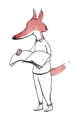 Mel Howells Illustration - mel, howells, mel howells, traditional, painted, watercolour, pen, ink, commercial, trade, fiction, educational, picture book, black line, animals, fox, foxes