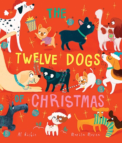 Marisa Morea Illustration - marisa, morea, marisa morea, trade, picture books, greetings cards, editorial, fiction, advertising, stationary, painted, digital, photoshop, illustrator, dogs, animals, pets, christmas, seasonal, festive, YA, young reader, c