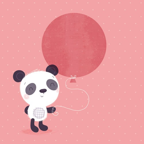Sarah Ward Illustration - sarah ward, sarah, ward, novelty, picture book, digital, young, sweet, commercial, educational, activity, animals, pandas, bears, greetings cards