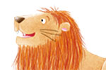 Marta Costa Illustration -   marta, costa, marta costa, pencil, digital, commercial, educational, picture book, young reader, YA, colourful, colour, cute, sweet, animals, camel, lion, rocks, nature, wild, talking, friends, happy, smile